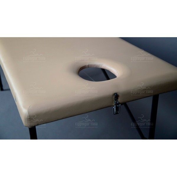 Складной массажный стол с регулировкой высоты